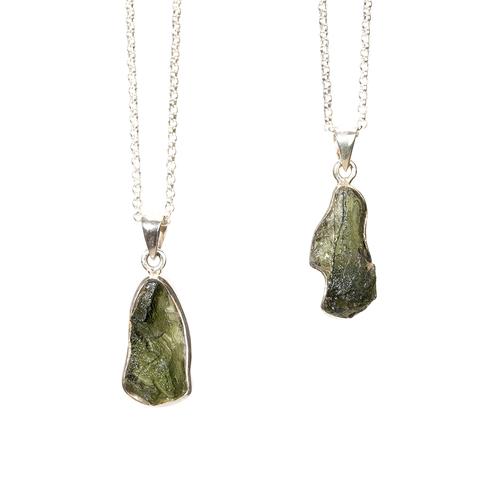 Moldavite Necklace - Thumbnail