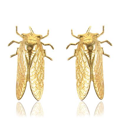 Hanging Cicada Earrings
