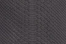 Python Skin Long Mina Black