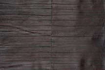 Eel Skin Panel Glazed Brown