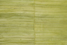 Eel Skin Panel Glazed Lime