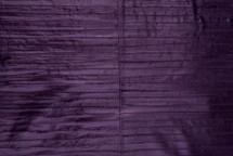 Eel Skin Panel Glazed Purple