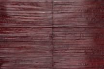 Eel Skin Panel Glazed Wine