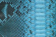 Python Skin Diamond BCUB Matte Turquoise