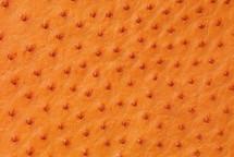 Ostrich Skin Matte Tangerine