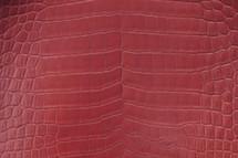 Alligator Skin Belly Glazed Ruby 45/49 cm Grade 4