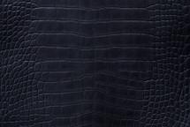 Alligator Skin Belly Matte Black 40/44 cm Grade 3