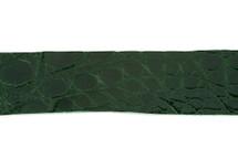 Belt Strip Crocodile Flank Glazed Bottle