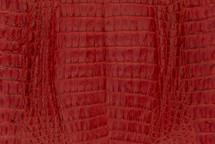 Caiman Skin Belly Matte Red