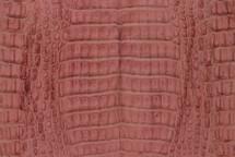 Caiman Skin Belly Matte Pink