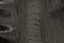 Ostrich Leg Glazed Black