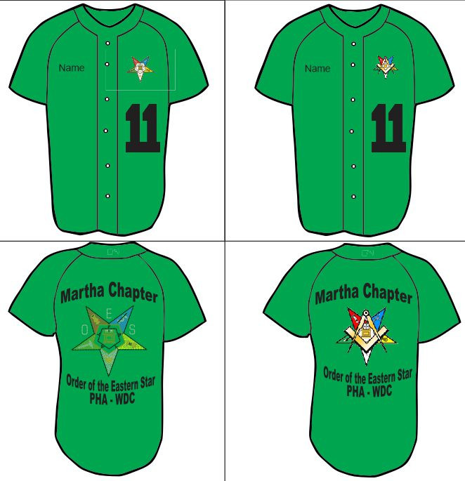 Martha Chapter No  11 Baseball Jersey