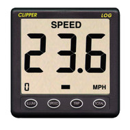 Clipper Speed Log Instrument w\/Transducer & Cover