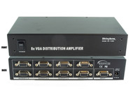 1x8 (1:8) 8-Way VGA PC RGBHV Video Splitter Distribution Amplifier SB-1108