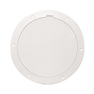 """Beckson 6"""" Non-Skid Pry-Out Deck Plate - White"""