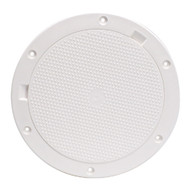 """Beckson 8"""" Non-Skid Pry-Out Deck Plate - White"""