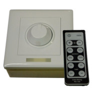 Lunasea Single Color Wall Mount Dimmer w\/Controller