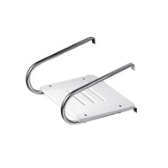 Whitecap White Poly Swim Platform f\/Inboard\/Outboard Motors