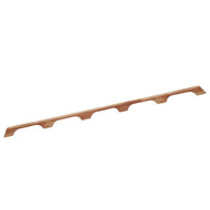 "Whitecap Teak Handrail - 5 Loops - 53""L"
