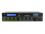 4x4 4:4 VGA with Balanced Stereo Audio Terminal Block Matrix Switcher SB-4144TB