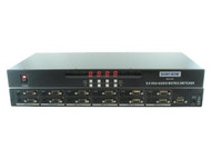 8x4 8:4 VGA PC RGBHV Video + Stereo Audio Matrix Switch Switcher + Mount SB-4184