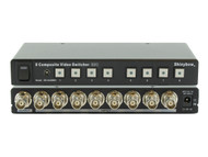 8x1 (8:1) 8-Port Composite BNC Video Switcher Selector with Remote SB-5440BNC