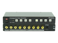 8x1 (8:1) 8-Port Composite RCA Video Switcher Selector with Remote SB-5440RCA