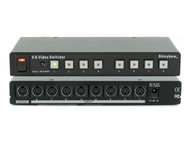 8x1 (8:1) 8-Port S-Video S-VHS Video Switcher Selector with Remote SB-5440SV