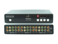 4x2 4:2 Component RCA Video + Audio Routing Switcher Splitter with Remote SB5460