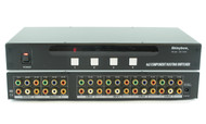 4x2 (4:2) Component RCA Video with Digital/Analog Audio Switcher Splitter SB5466
