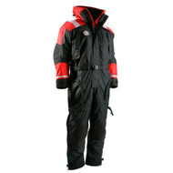 First Watch Anti-Exposure Suit - Black\/Red - XXX-Large