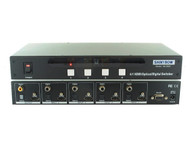 4x1 4:1 Port HDMI with Digital/Optical Audio HDTV Switch Switcher RS232 SB-5605