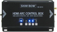 HDMI 1.4 ARC Audio Extractor DeEmbedder Splitter to Digital/Stereo 3.5mm SB-5610