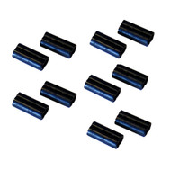 Scotty Double Line Connector Sleeves - 10 Pack