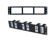 Rack Mount Rackmount Mounting Panel for Shinybow CAT5 Video Extenders SB-6066