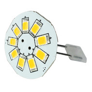 """Lunasea G4 Back Pin 0.9"""" LED Light - Cool White"""