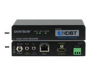 HDMI HDBaseT Receiver Over Single CAT 5e/6/7?Bi-Directonal IR RS232 SB-6335R