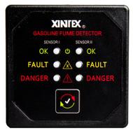 Xintex Gasoline Fume Detector w\/2 Plastic Sensors - Black Bezel Display