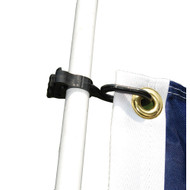 Taylor Made Charlevoix Burgee and Antenna Clip