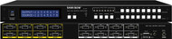 8x8 (8:8) VGA PC RGBHV Video Matrix Switch Switcher + RS232?+ IR Remote SB-8180