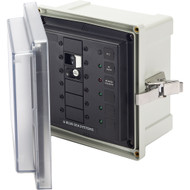 Blue Sea 3116 SMS Surface Mount System Panel Enclosure - 120V AC \/ 30A ELCI Main - 3 Blank Circuit Positions