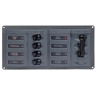 BEP AC Circuit Breaker Panel w\/o Meters, 4 Way Panel 2 Mains - 110V
