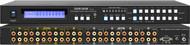 8x8 8:8 Composite Video + Audio Matrix Switch Switcher w/ Volume Control SB-8804