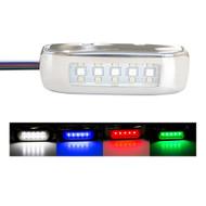 Innovative Lighting RGBW Tri-Lite w\/Stainless Steel Bezel