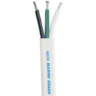 Ancor White Triplex Cable - 14\/3 AWG - 500