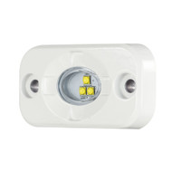 "HEISE Marine Auxiliary Accent Lighting Pod - 1.5"" x 3"" - White\/White"