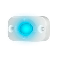 """HEISE Marine Auxiliary Accent Lighting Pod - 1.5"""" x 3"""" - White\/Blue"""