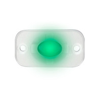 """HEISE Marine Auxiliary Accent Lighting Pod - 1.5"""" x 3"""" - White\/Green"""