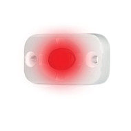 """HEISE Marine Auxiliary Accent Lighting Pod - 1.5"""" x 3"""" - White\/Red"""