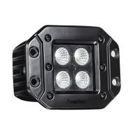 """HEISE Blackout LED Cube Light - Flush Mount - 3"""""""